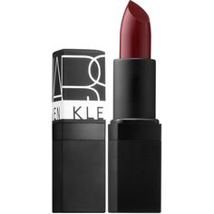 NARS Nars Steven Klein Collaboration Killer Shine Lipstick ($29) ❤ liked on Polyvore featuring beauty products, makeup, lip makeup, lipstick, nars cosmetics, glossy lipstick, gloss lipstick, lip gloss makeup and shiny lipstick