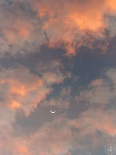 Crescent moon against a cotton candy pink sunrise sky in Savannah Georgia. To the Moon and Back II crescent moon print by Samba to the Sea at The Sunset Shop. Aesthetic Backgrounds, Aesthetic Iphone Wallpaper, Aesthetic Wallpapers, Wallpaper Backgrounds, Sky Aesthetic, Aesthetic Photo, Aesthetic Pictures, Pretty Sky, Beautiful Sky