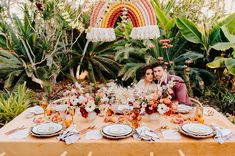 La Tavola Fine Linen Rental: Velvet Tamarind with Velvet Pink Napkins | Photography: Jake & Necia, Venue: Dos Pueblos Orchid Farm, Design: Wild Heart Events, Florals: Idlewild Floral, Partners: Otis and Pearl, Theoni Collection, Heather Taylor Home, Party Pleasers, Sophia Loves Letters and Bella Vista Desgins