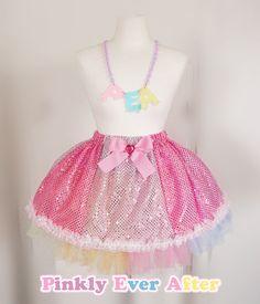 Sugar Heart Magic☆ Little Witch Skirt