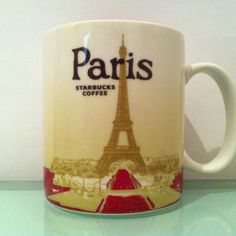I can't believe I've been to France so many times but never to Paris. Totally need to go so I can get me this Paris Starbucks City Mug