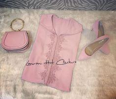Le Rose poudré ... the classic trend @lamrani_hot_couture . . . . . . . . #djellaba #caftan #chic #handmade #glamour #dubaifashionista #dubaifashionblogger #dubai #mudubai #fashion #جلابيات #جلابيات_رمضان #جلابيات_راقية
