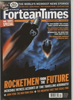 LIKE NEW MAGAZINE MINOR COVER WEAR OCTOBER 2008 #files #dead #came #back #future #from #times #magazine #rocket #fortean