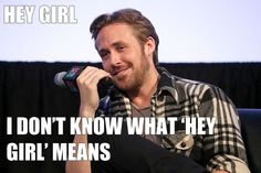 The details behind Ryan Gosling's #SXSW panel, featuring a proposal and a surprising confession from the Gos himself.