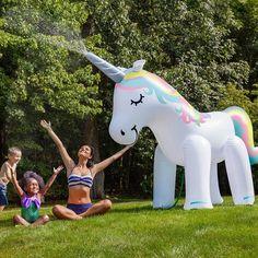 Enchanted Unicorn Lawn Sprinkler - TAKE MY MONEY!!!:)