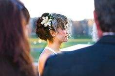 Such a serene bride (and a lovely veil to boot!)   C. Tyler Corvin Studio #beautiful #bride