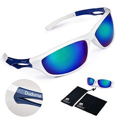 Duduma Polarized Sports Sunglasses Sports Wrap for Running Cycling Fishing Golf Tr90 Unbreakable Frame (white/blue) Duduma http://www.amazon.com/dp/B00UFOYFR0/ref=cm_sw_r_pi_dp_t0Btwb1SFZEM2