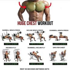 Huge Chest Workout! Fitness Training Plan - Yeah We Train ! #fitnessprogram
