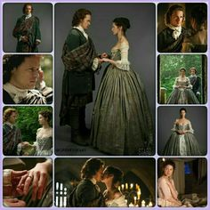 "Jamie & Claire Fraser's Wedding – *** See separate board ""Ent: TV…"