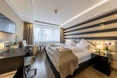 Skyline Hotel Fotoshooting Doppelzimmer