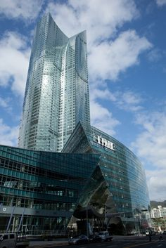 I'Park Complex in Busan, South Korea by Studio David Libeskind