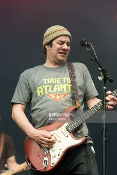Mickey Melchiondo aka Dean Ween of Ween performs on stage during 2017 SweetWater 420 Fest at Olympic Centennial Park on April 23, 2017 in Atlanta, Georgia.