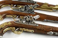 Denix Replica Guns - Pre 1870 Pistols & Rifles From Baytree Interiors
