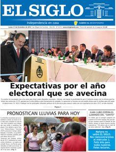 Diario El Siglo - Lunes 31 de Diciembre de 20 12