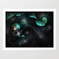 The+Alpha+Art+Print+by+Mandie+Manzano+-+$15.60
