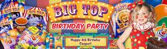 Circus Party Ideas (deco, food, activities, party favor ...)