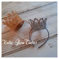 The Isabella Lace Crown, flowers, headband, photography prop, photo prop, Princess, First Birthday, Boho, Shabby Chic Headband, Newborn on Etsy, $15.00