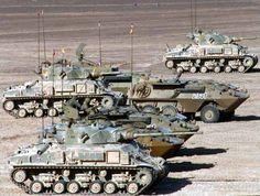 Antiguas de los Sherman M-4 Modificado con cañón de 90 mm y Super Sherman