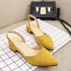 Costbuys women Sandals flat slingback sandals point toe suede quality flats women Summer shoes 39 office casual sandals The post Costbuys appeared first on Summer Ideas. Womens Summer Shoes, Womens High Heels, Womens Flats, Flat Sandals, Wedge Shoes, Shoes Heels, Sneakers Mode, Sneakers Fashion, Frauen In High Heels