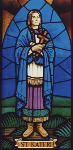 Saint Kateri Tekakwitha: the first Native American saint