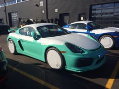GT4 - PTS Mint Green with LWBs and PCCBs - Rennlist Discussion Forums