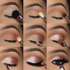 7 simple makeup tips to make your eyes burst .- 7 einfache Make-up-Tipps, um Ihre Augen zum Platzen zu bringen – Style O Check 7 Simple Makeup Tips to Make Your Eyes Burst – Style O Check …, - Makeup Eye Looks, Eye Makeup Steps, Pretty Makeup, Prom Eye Makeup, Silver Eye Makeup, Perfect Makeup, Easy Eye Makeup, Almond Eye Makeup, Prom Makup