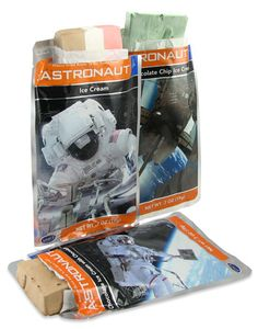Astronaut Ice Cream. As a kid, I purchased this every chance I got.  I am still rather tempted by the novelty of it (not the flavor).