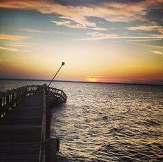 Sunset in Seaside, NJ