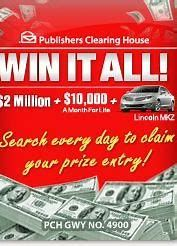PCH Win 10 Million Dollars Sweepstakes - Bing images Instant Win Sweepstakes, Online Sweepstakes, Wedding Sweepstakes, Travel Sweepstakes, Winning Lottery Numbers, Winning Numbers, Winning Lotto, Metal Detectors For Sale, Pch Dream Home