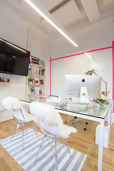 A Look Inside Luluu0027s Chic New York City Office