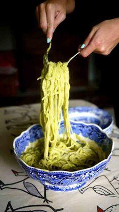 Avocado Spagetti