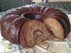 Banana cinnamon swirl bundt cake. Also makes good muffins!