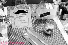 DIY / Tuto déco : Le Baptême Moustache de Gabriel #MoustacheParty | Ju2Framboise