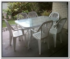 Plastic Patio Chairs And Table   Http://www.ticoart.net/