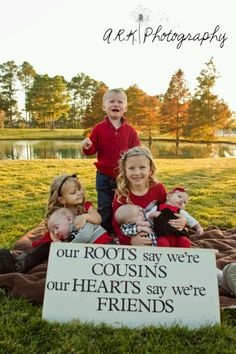 What an adorable cousins pic! I better hurry up....