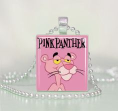 """PINK PANTHER House Key Blank KW1 Kwikset REVERSABLE /""""Detective/"""""""