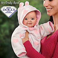 Doll: Cutest Baby Of 2014 Portrait Savana Baby Doll  So freaking realistic and adorable!!