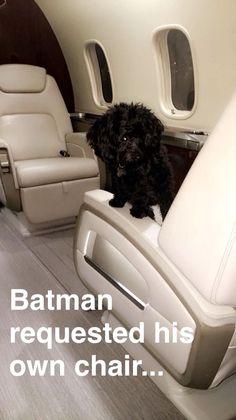 Batman on snapchat