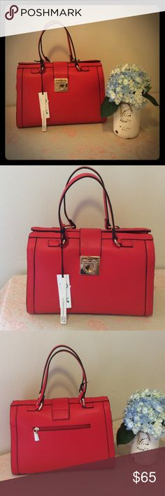 Red HOT  handbag Brand new gorgeous  handbag perfect to give a pop to your outfit this summer. It includes should strap. Interior lining with zipped pocket. LA TERRE FASHION Bags Shoulder Bags