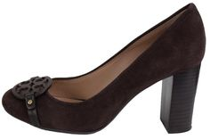 1bc8cf8d7bdc Tory Burch Coconut Mini Miller 85mm Brown Suede 9.5 W Gift Receipt Pumps Size  US 10 Regular (M