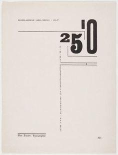 Piet Zwart. 25'0 hoogspanningskabels met papierisolatie-N.K.F. Delft. 1925
