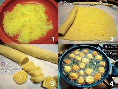 ARANCINI DI CARNEVALE - Preparazione Un dolce fritto tipico delle Marche. #originalmarche #carnevale #arancini