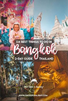 Looking for the best things to do in Bangkok, Thailand? The city is huge and there is so much to do and attractions to visit, so we've rounded up the absolute best things to do in Bangkok on a two day itinerary to the capital of Thailand! Bangkok Travel Guide, Thailand Travel Tips, Visit Thailand, Bangkok Thailand, Asia Travel, Bangkok Itinerary, Bangkok To Do, Bangkok Things To Do In, Bangkok Shopping