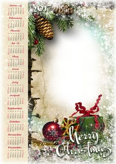 Romantic Christmas - 2017 Calendar psd