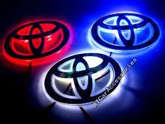 car logo light for Toyota,car badge lightings,auto led light,auto emblem led lamp,car styling Toyota Tacoma Sport, Toyota Cars, Toyota 4runner, Toyota Corolla, 2016 Tacoma, Toyota 86, Toyota Tundra, Toyota Emblem, 4runner Accessories