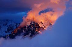 Mountain Alpes Chamonix Montagne France