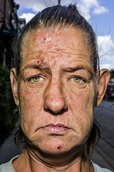 Bruce Gilden is best known for his up close street photography, but his new book Face is designed to take the idea to new levels by . Magnum Photos, Ville New York, Too Faced, Face Reference, Photographs Of People, Expressions, Many Faces, Street Photographers, Portraits