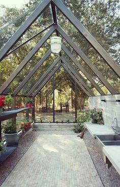 Greenhouse #conservatorygreenhouse