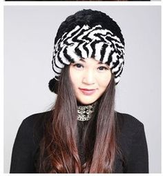 H209-New arrival pom beanies for girl, ear protector Wholesale 11colors autumn winter real rex rabbit fur russian hat