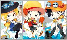 One Piece , Sabo, Luffy, Ace (ASL)